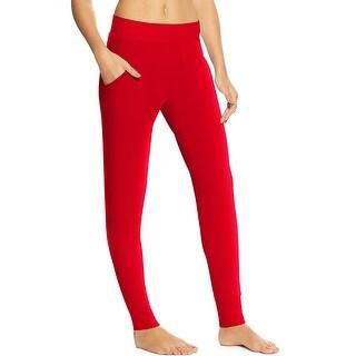 Maidenform Lounge Pants - Color - Barbados Cherry - Size - XL