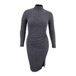 Lauren Ralph Lauren Women's Jacquard Sheath Dress - Heather Grey
