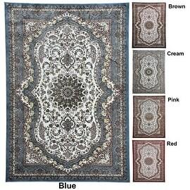 7x7 Feet Round 8x10 5.3x7.2 Blue Brown Cream Pink Red Area Rug Carpet