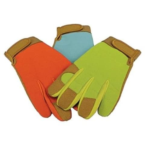 Boss 783 Leather Palm Synthetic Gloves, Hook and Loop