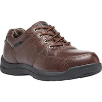 Propet Men's Four Points II Oxford Brown Full Grain Leather