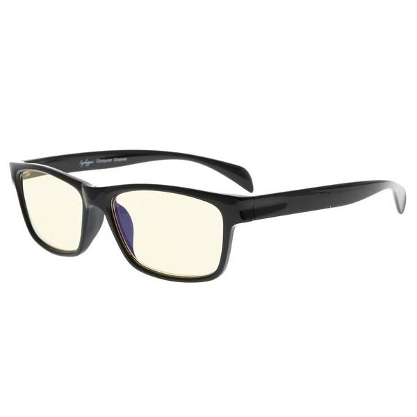 ec6d8bdb9d Eyekepper UV Protection Anti-Fatigue Computer Glasses Anti Blue Light  Blocking Yellow Tinted Lenses(
