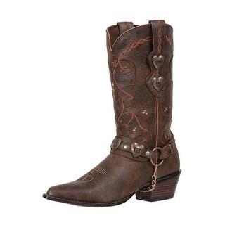 """Durango Western Boots Womens 11"""" Crush Heartbreaker Dusk"""