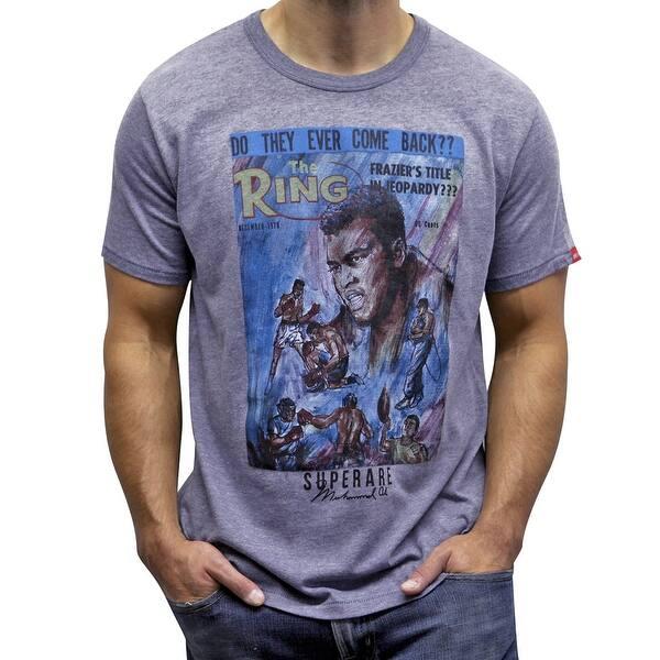 Superare x Ali The Fighter T-Shirt Silver