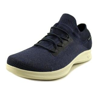 Skechers Go Step Lite Effortless Women  Round Toe Canvas Blue Walking Shoe