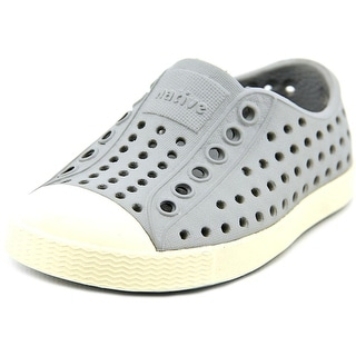 Native Jefferson Infant Round Toe Synthetic Gray Clogs