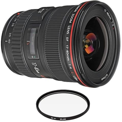 Canon EF 17-40mm f/4L USM Lens with Pro Filter
