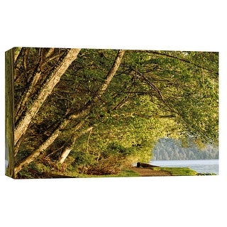 "PTM Images 9-101734  PTM Canvas Collection 8"" x 10"" - ""Overhanging Trees"" Giclee Forests Art Print on Canvas"