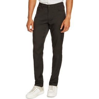 Kenneth Cole Reaction Mens Casual Pants Slim Fit Tech