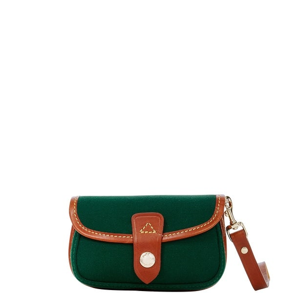 Dooney & Bourke Cabriolet Flap Wristlet (Introduced by Dooney & Bourke at $45 in Feb 2017) - Hunter