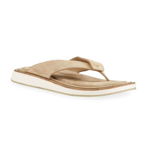 rag AND bone Womens Parker Thong Sandal Shoes Light Sand