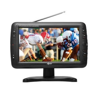 9 Portable TV ATSC with Rechargeable Battery
