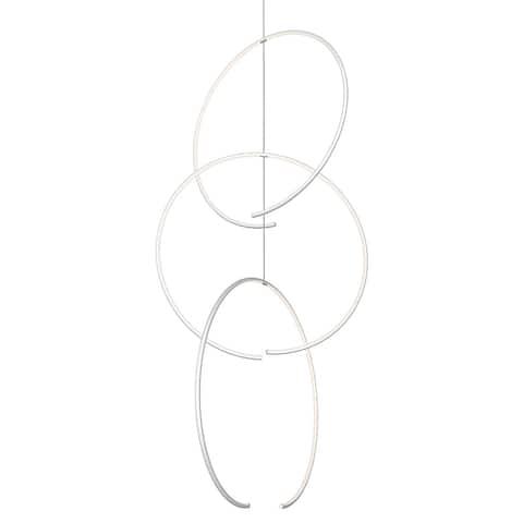 Sonneman Torc LED Triple Pendant