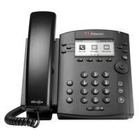 Polycom VVX 300 6-line Desktop Phone (2200-46135-025) with HD Voice