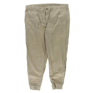 Polo Ralph Lauren Mens Jogger Pants Flat Front Straight Fit