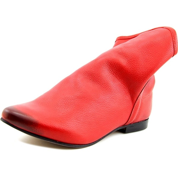 Coconuts By Matisse Talulah Women  Pointed Toe Leather Red Bootie