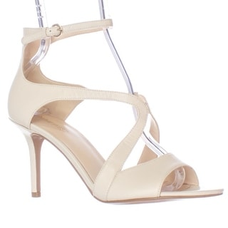 Nine West Gerbera Ankle Strap Dress Pumps, Off White