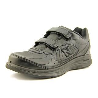 New Balance WM577 2A Round Toe Leather Walking Shoe