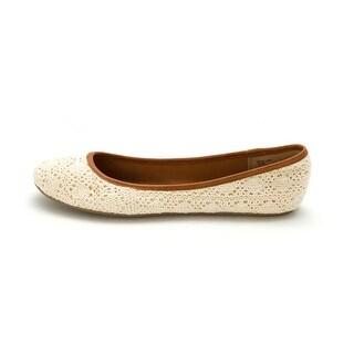 American Rag Womens Cellia4 Almond Toe Loafers, Crochet, Size 9.5