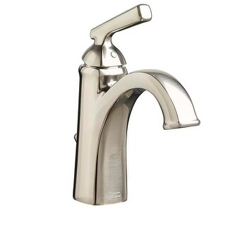 American Standard 7018.101 Edgemere 1.2 GPM Single Handle Bathroom Faucet - Includes Pop-Up Drain Assembly