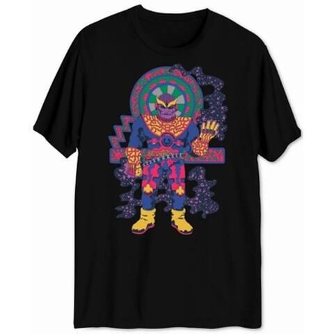 Marvel Mens T-Shirt Black Size Medium M Thanos Mad Titan Graphic Tee