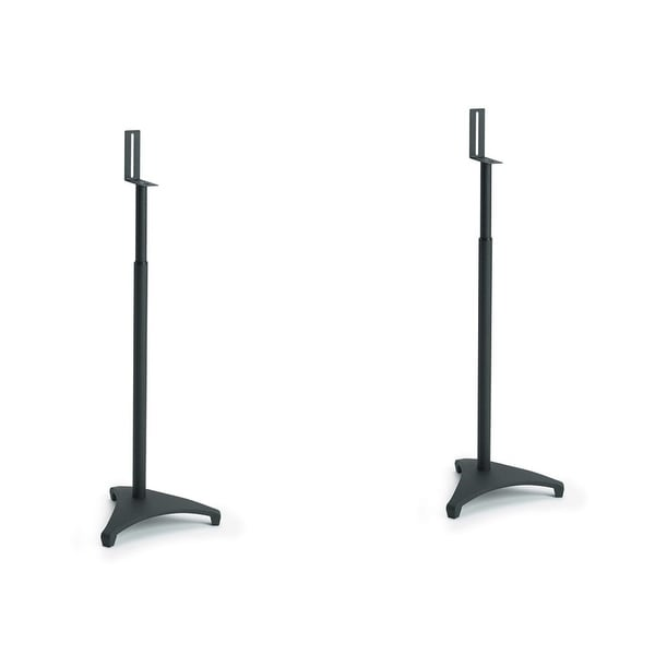 Sanus EFSat Adjustable Stands for Satellite Speakers - Pair (Black)
