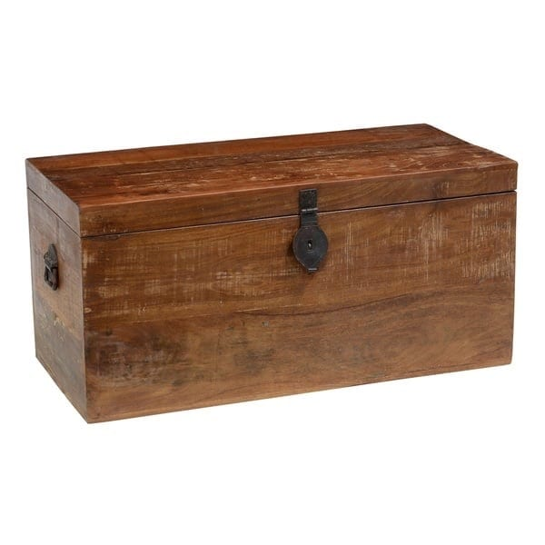 Bali Reclaimed Wood Storage Trunk By Kosas Home   Free Shipping Today    Overstock.com   15327648