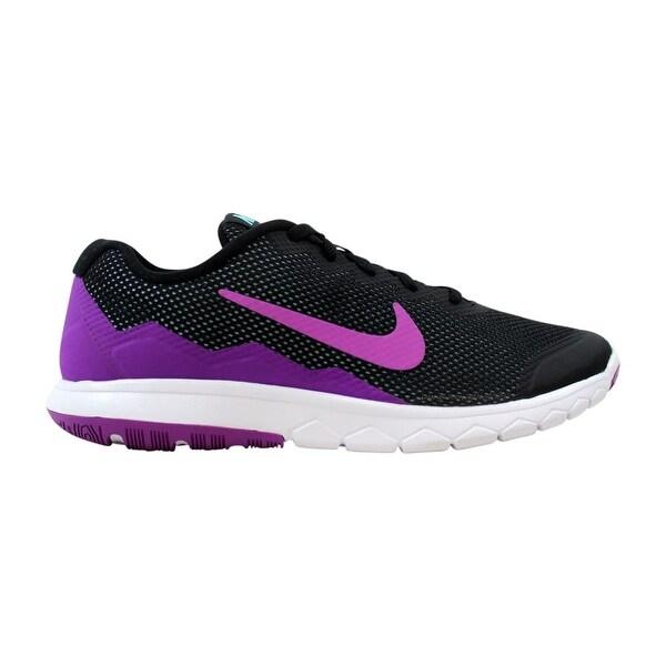 the best attitude 6a102 9dadb Nike Flex Experience Run 4 Black Vivid Purple-Copa-White 749178-010
