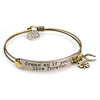 Women's Inspirational Message Brass Bracelet With Charms - Dream As If|https://ak1.ostkcdn.com/images/products/is/images/direct/0fa85b6acf70b2c2e066297bf39988b1330a4ad5/Women%27s-Inspirational-Message-Brass-Bracelet-With-Charms---Dream-As-If.jpg?impolicy=medium