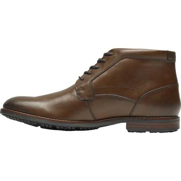 Dustyn Chukka Boot New Caramel Leather