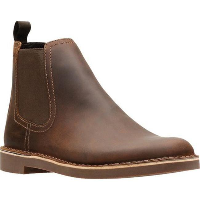 wide selection of designs volume large better price Clarks Men's Bushacre Hill Chelsea Boot Dark Brown Full Grain Leather