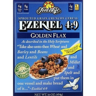 Food For Life Baking - Ezekiel 4:9 Gluten Free Cereal ( 6 - 16 OZ)