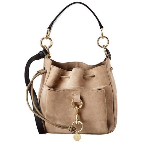 See By Chloe Tony Medium Leather & Suede Shoulder Bag