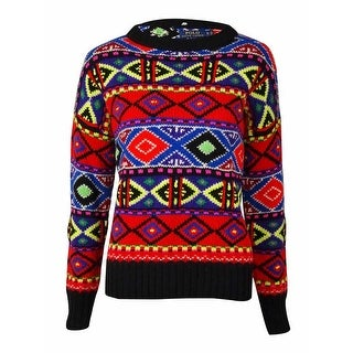 POLO Ralph Lauren Women's Wool Blend Knit Ski Sweater - Multi