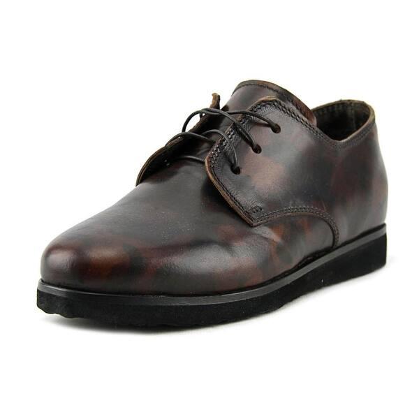 san francisco 70f00 6b064 Shop Alexander Hotto Harrone Round Toe Leather Oxford - Free ...