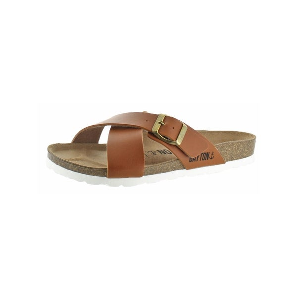 Bayton Womens Era Slide Sandals Cork Open Toe