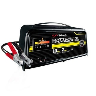 Schumacher SE-1010-2 Manual Traditional Battery Charger, 2/10 Amp