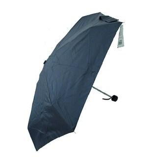 Raines by Totes Micro Mini Navy Blue Umbrella with Medium Coverage
