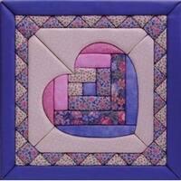 "12""X12"" - Heart Quilt Magic Kit"