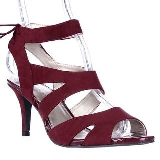 Bandolino Misilana Strappy Dress Sandals - Wine