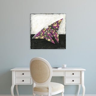Easy Art Prints Chariklia Zarris's 'Butterfly' Premium Canvas Art