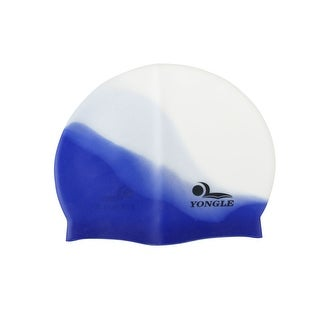 Unique Bargains Unique Bargains Stretchy Silicone Swimming Diving Protective Gear Swim Cap for Swimmers