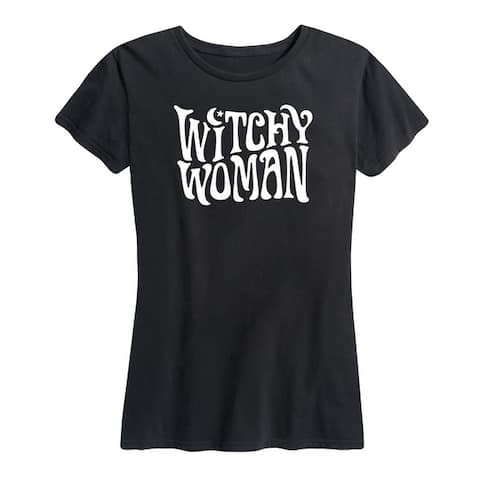 Witchy Woman - Women's Short Sleeve Graphic T-Shirt