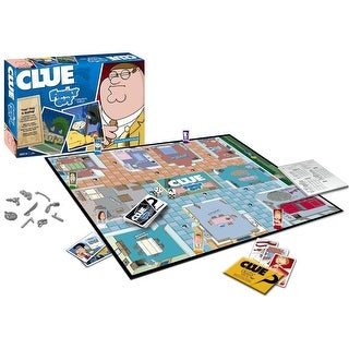 Family Guy Clue Collectors Edition Boardgame