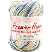 Home Cotton Yarn - Multi-Rustic Blue