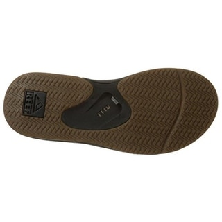 Reef Mens Fanning II Thong Colorblock Flip-Flops