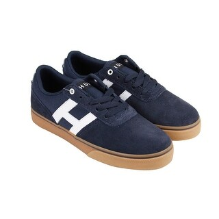 HUF Choice Mens Blue Suede Lace Up Sneakers Shoes