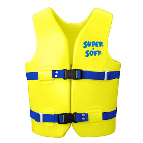 U.S. Coast Guard Approved Youth Vest - Bright Yellow