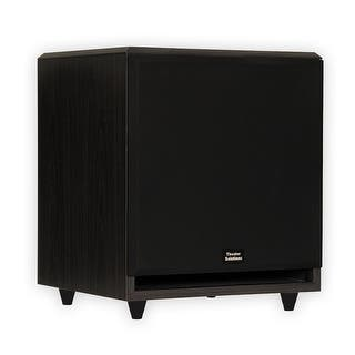 """Theater Solutions SUB12F Home Theater Powered 12"""" Subwoofer Surround Sound Front Firing Sub