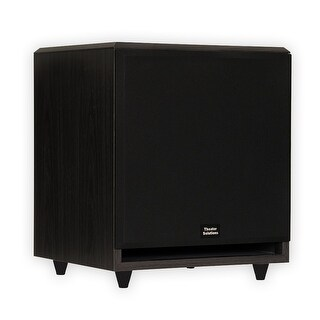 "Theater Solutions SUB12F Home Theater Powered 12"" Subwoofer Front Firing Sub"